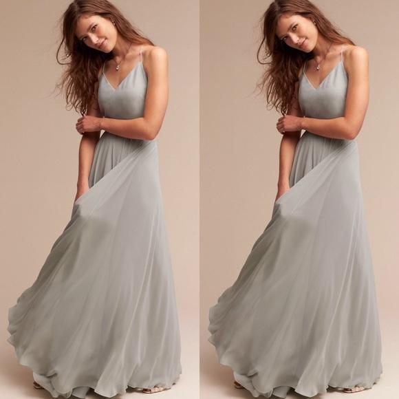 4d55601d82848 Anthropologie Dresses | X Bhldn Jenny Yoo Inesse Maxi Dress | Poshmark